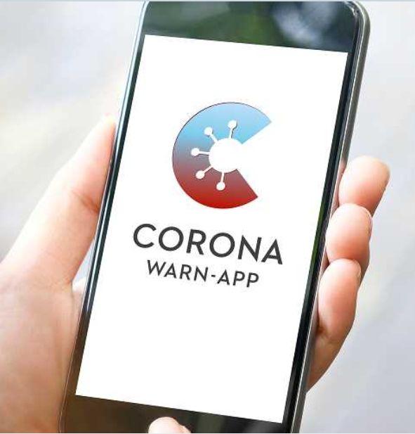 Corona App Suchen