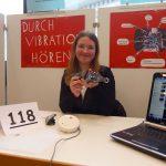 Jugend forscht - Arbeitswelt: Durch Vibration hören;Jenny Jopen (16), Städt. Realschule